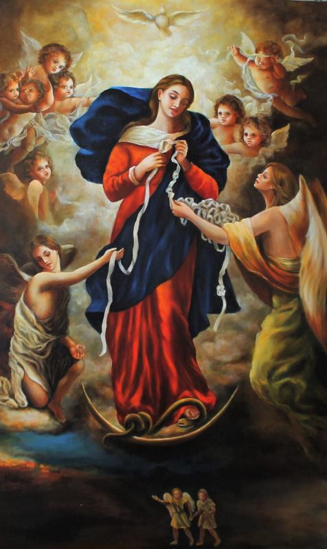 Екатерина Саевская. Дева Мария развязывающая узлы