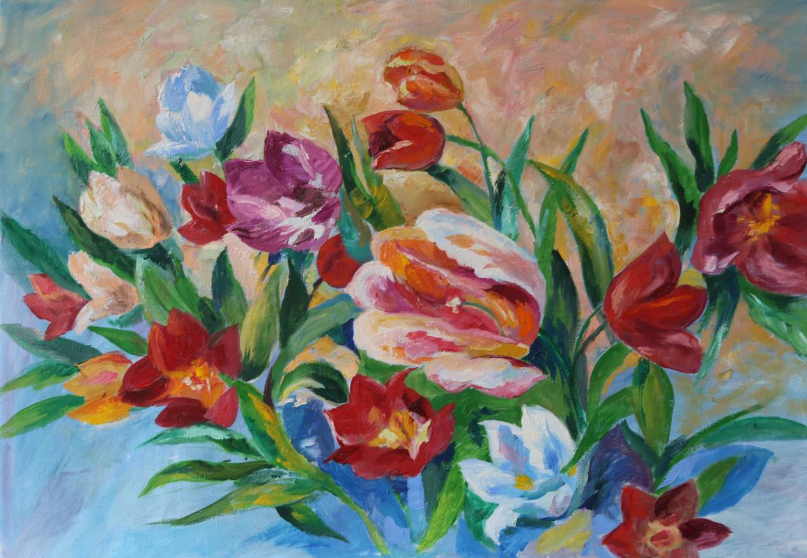 Tatyana Nikolaevna Antonova. Flowers
