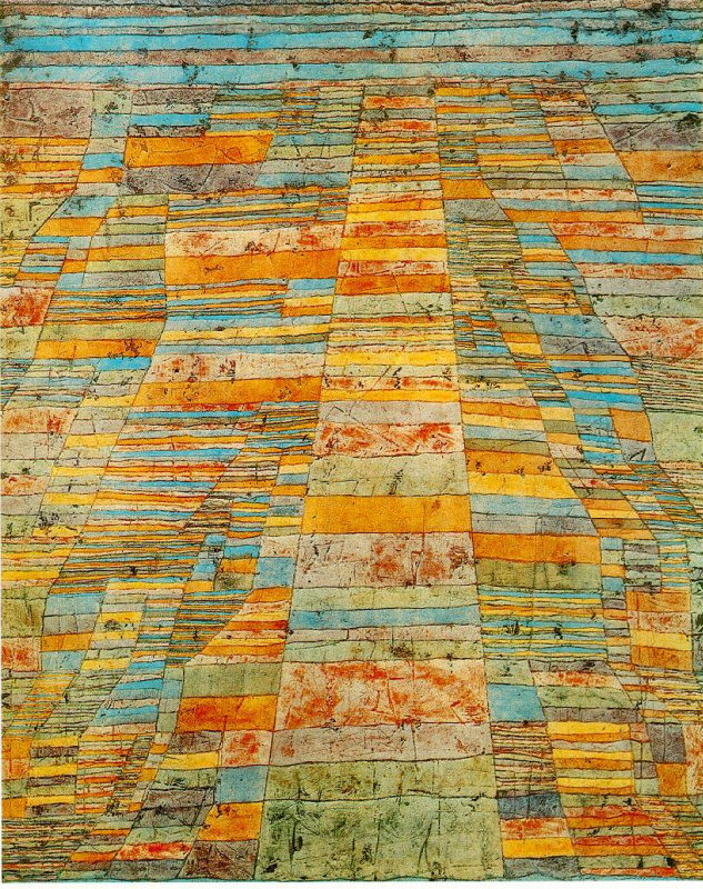 Paul Klee. Highway and byways