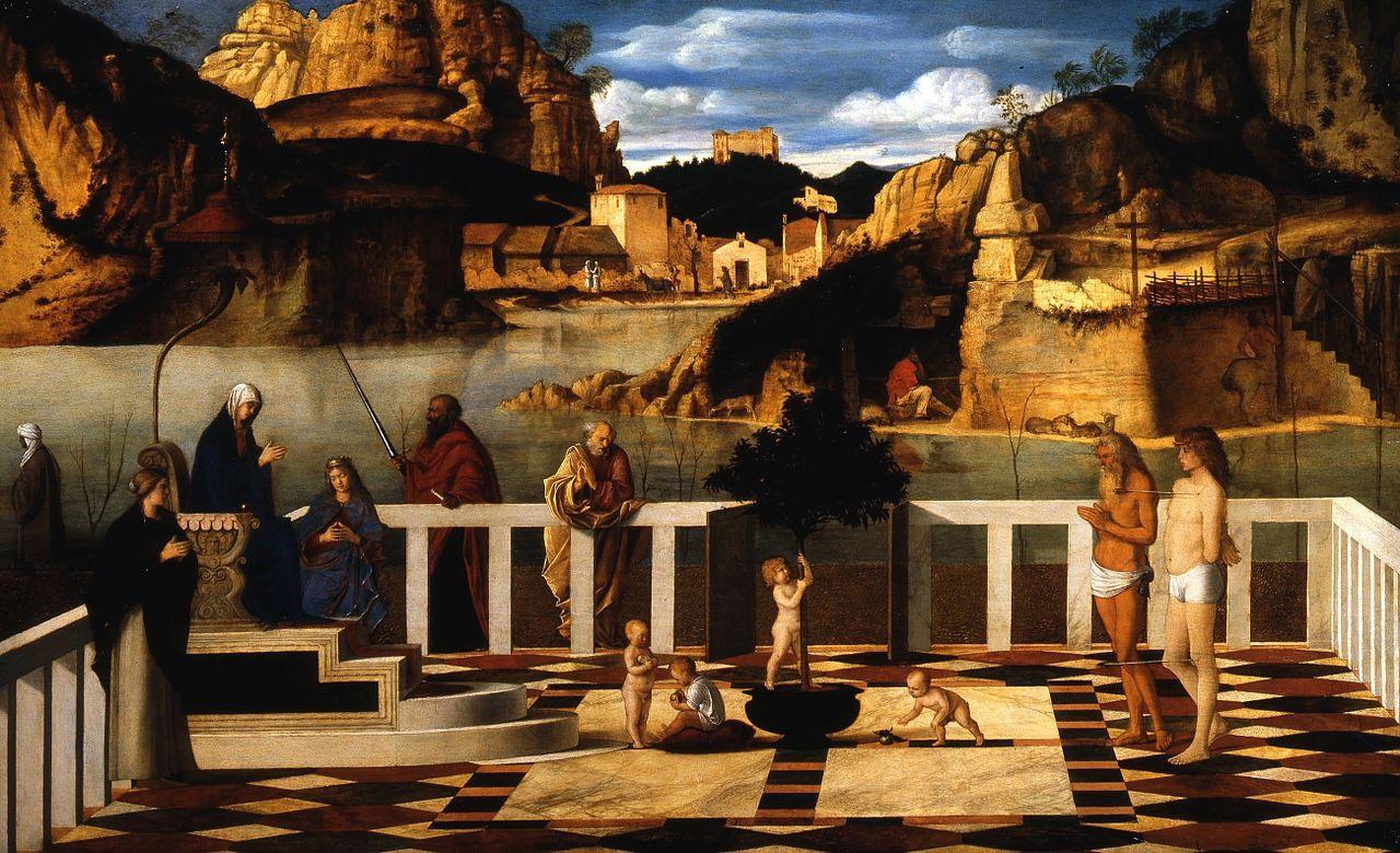 Giovanni Bellini. Sacred allegory