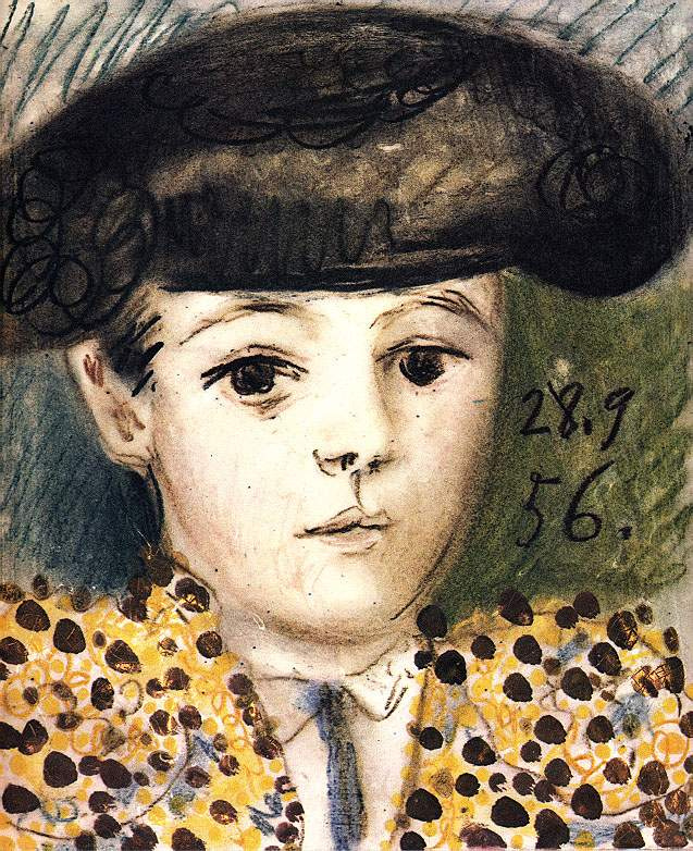 Пабло Пикассо. Клод в костюме матадора