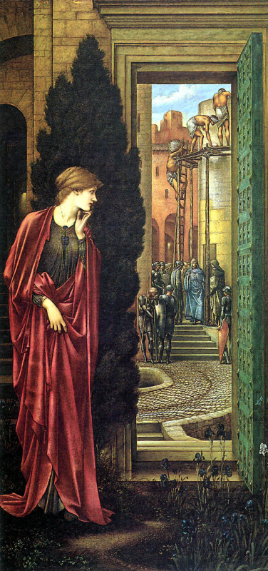 Edward Coley Burne-Jones. Danae (Copper Tower)