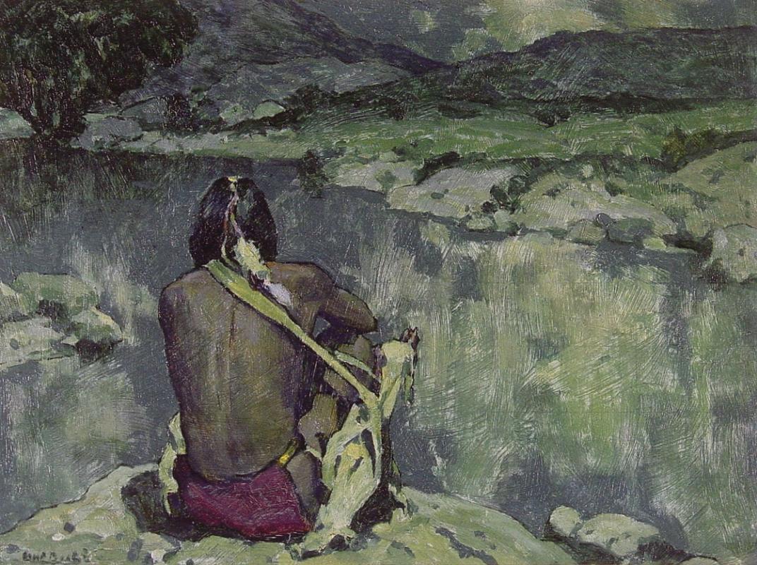 Inger Irving Kaus. Meditation