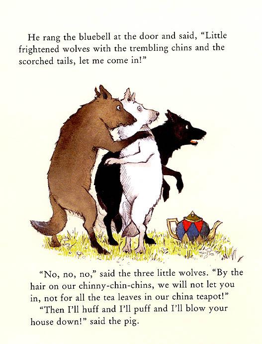 Хелен Охенбуру. Три маленьких волчонка и большой плохой свин 20