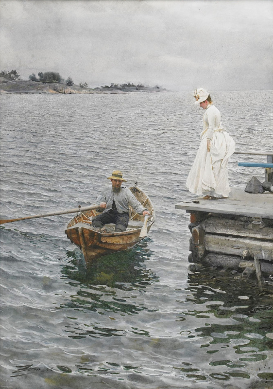 Anders Zorn. Summer fun