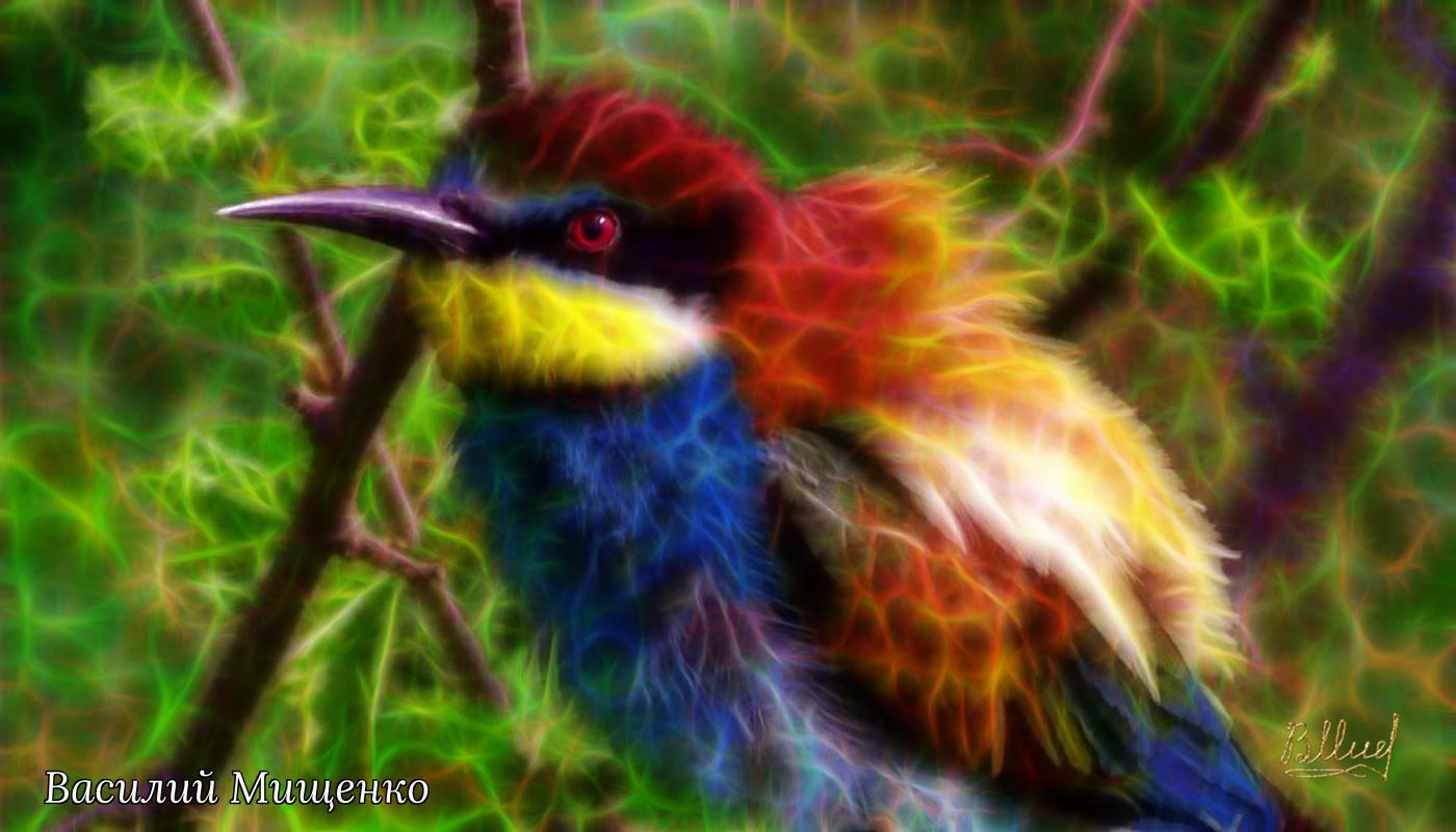 Vasiliy Mishchenko. Birds 022