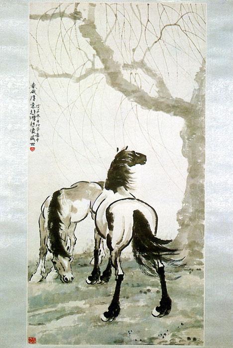 Беихонг Сюй. Лошадь 14