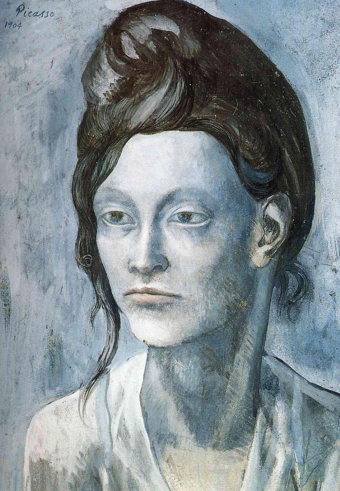 Пабло Пикассо. Женщина с забранными наверх волосами