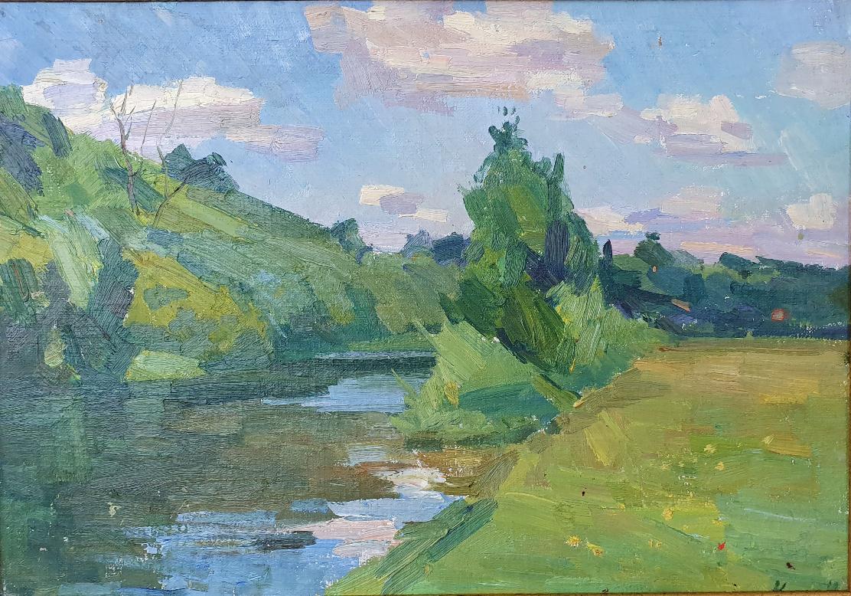 Matvey Borisovich Kogan-Shats. Desna Summer