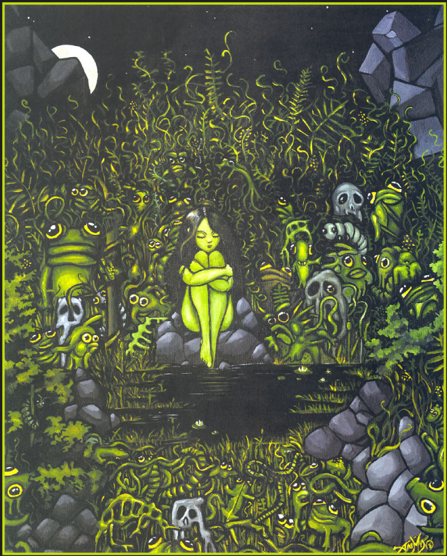 Жасмин Бекет Гриффит. Задумчивая фея