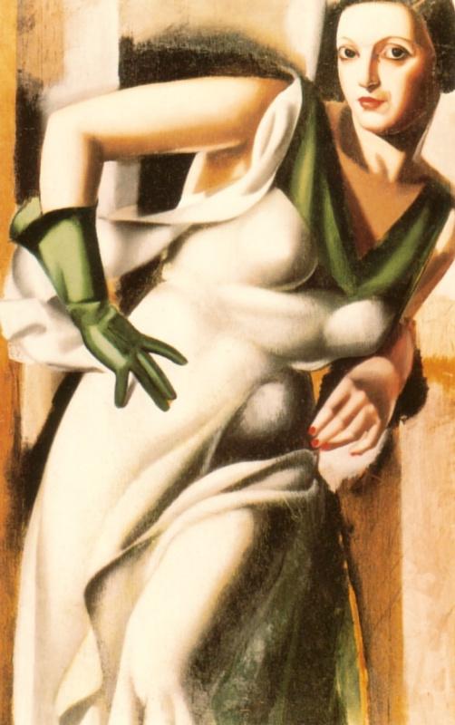 Тамара Лемпицка. Леди в зеленых перчатках