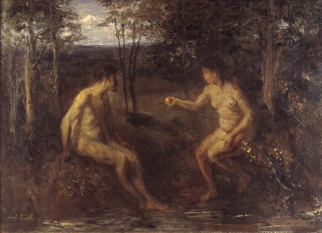 Joseph Israel. Adam and Eve