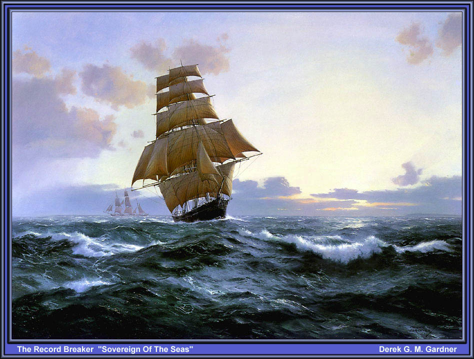 Дерек Гарднер. В море