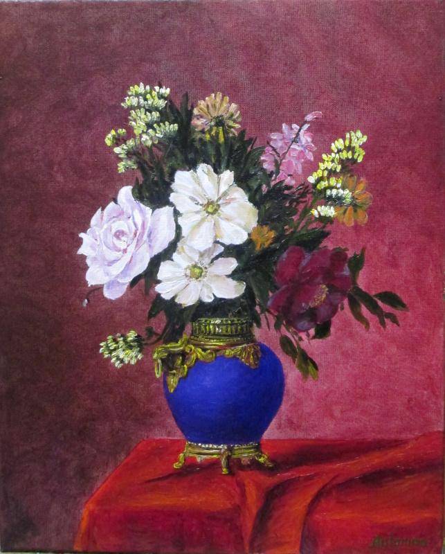 Antonina Petrikovskaya. Цветы 10