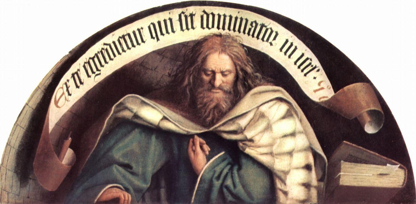 Хуберт ван Эйк. Пророк Михей. Гентский алтарь