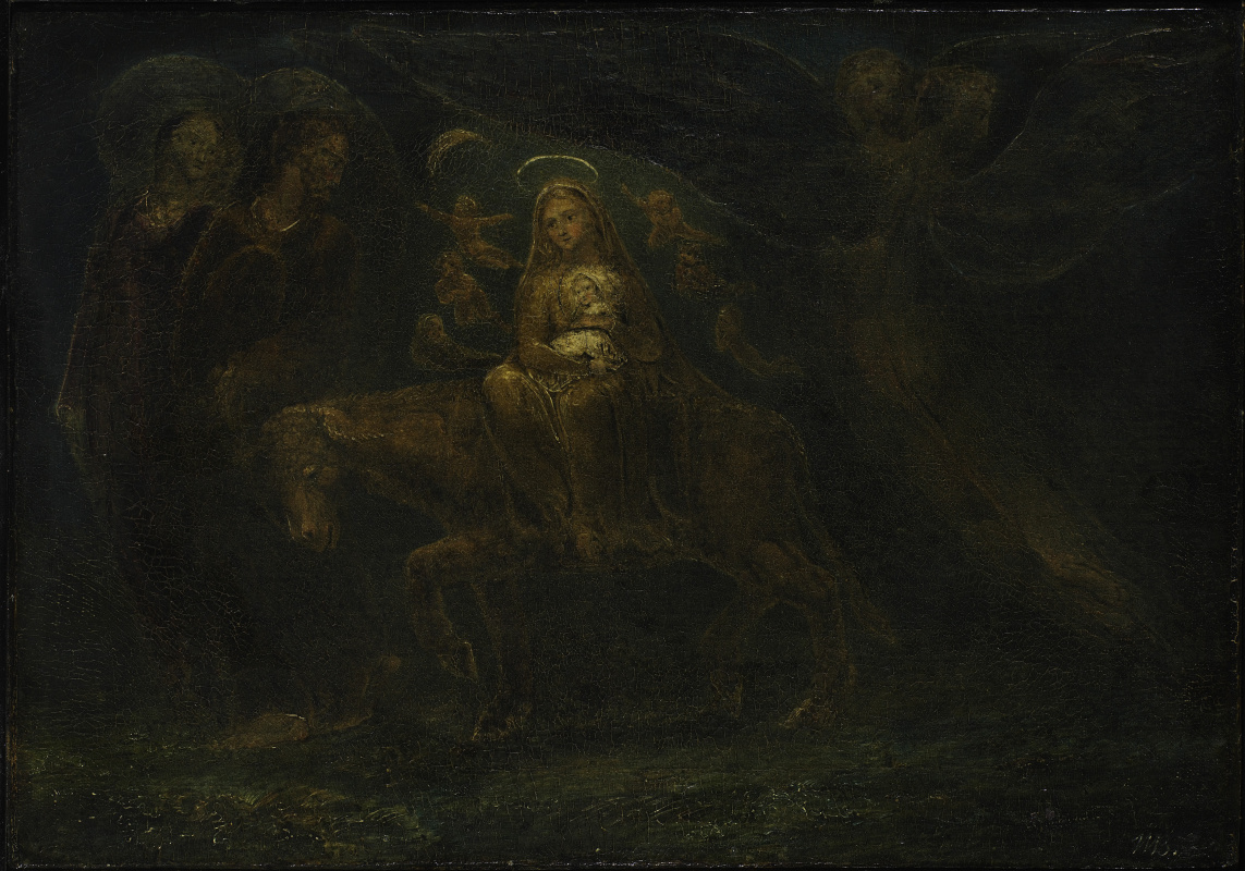 The flight into Egypt by William Blake: History, Analysis