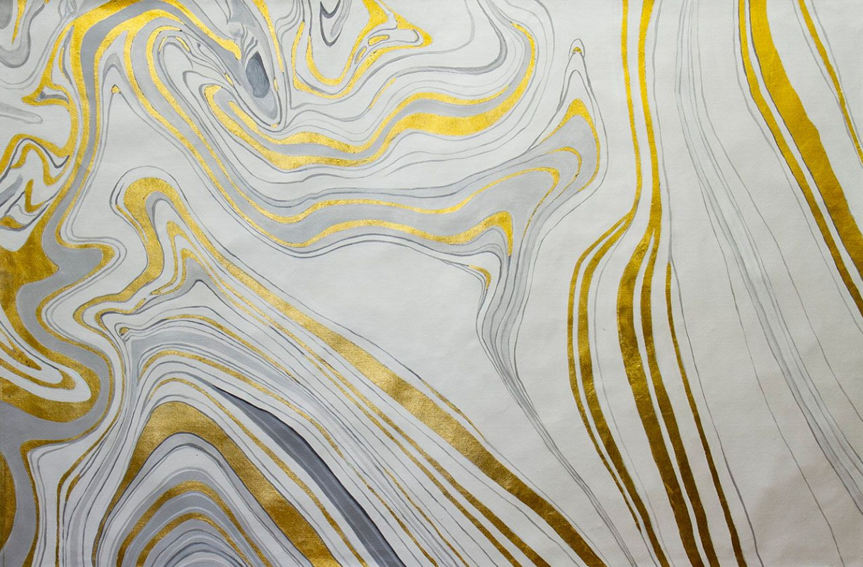 (no name). Marble and gold