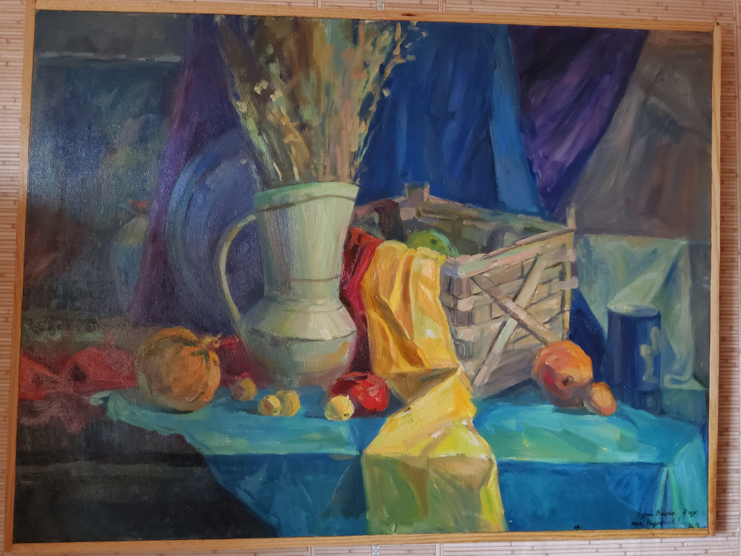 Мейрам Нурай. Натюрморт с овощами