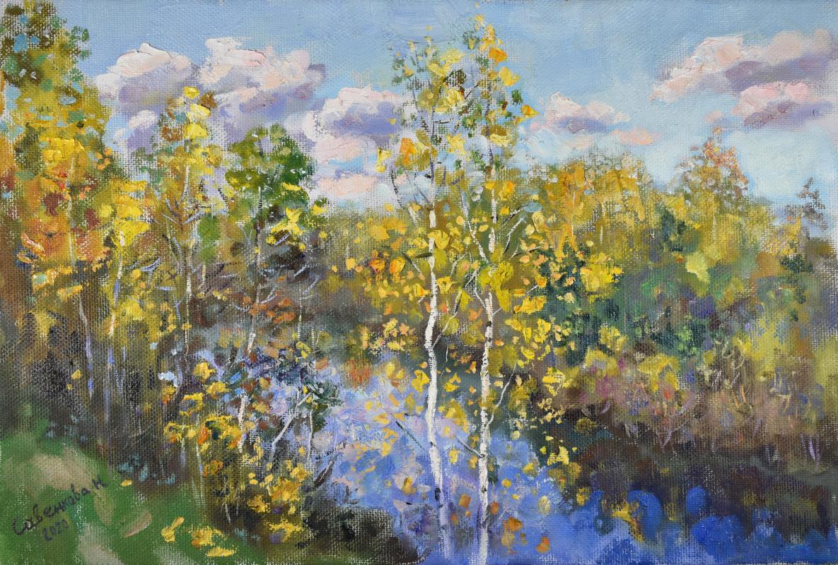 Natalya Savenkova. Autumn in Kaltino