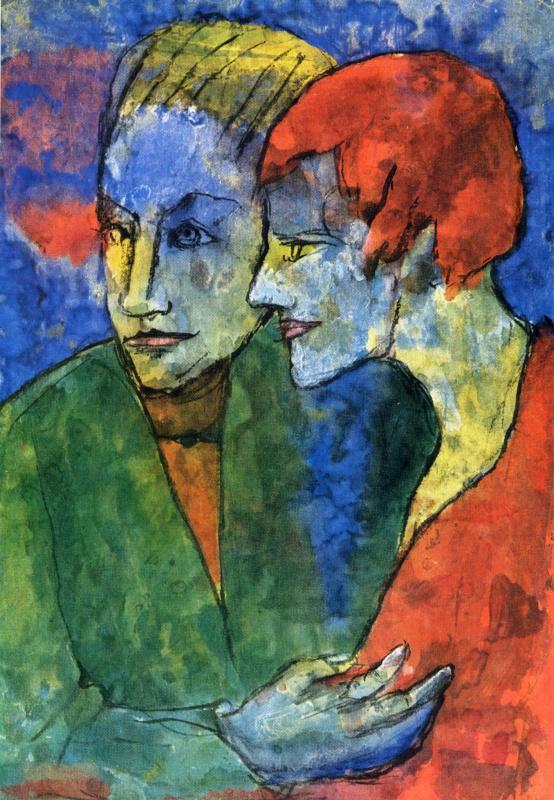 Эмиль Нольде. Молодая пара