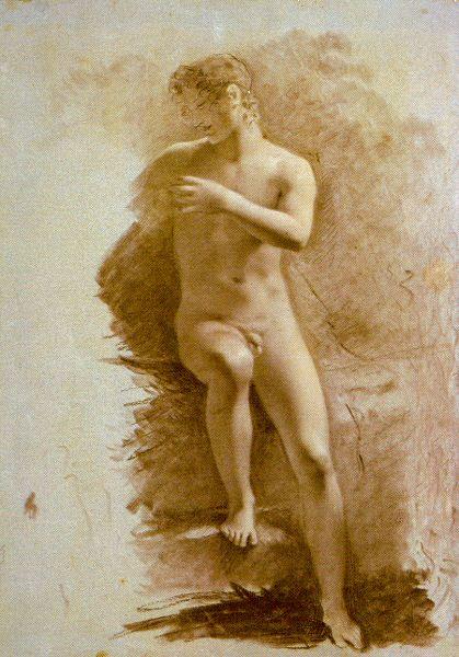 Пьер-Поль Прюдон. Обнаженная фигура