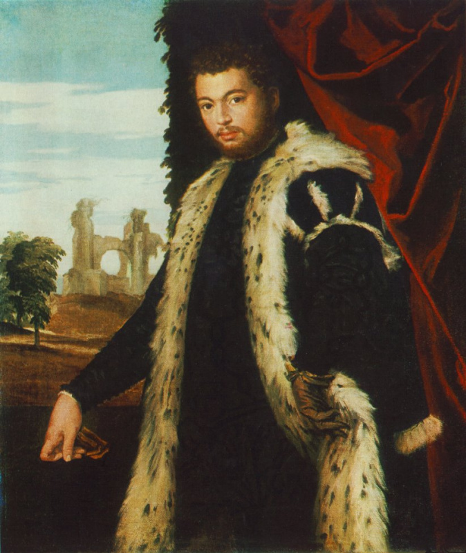 Паоло Веронезе. Портрет мужчины. Будапешт