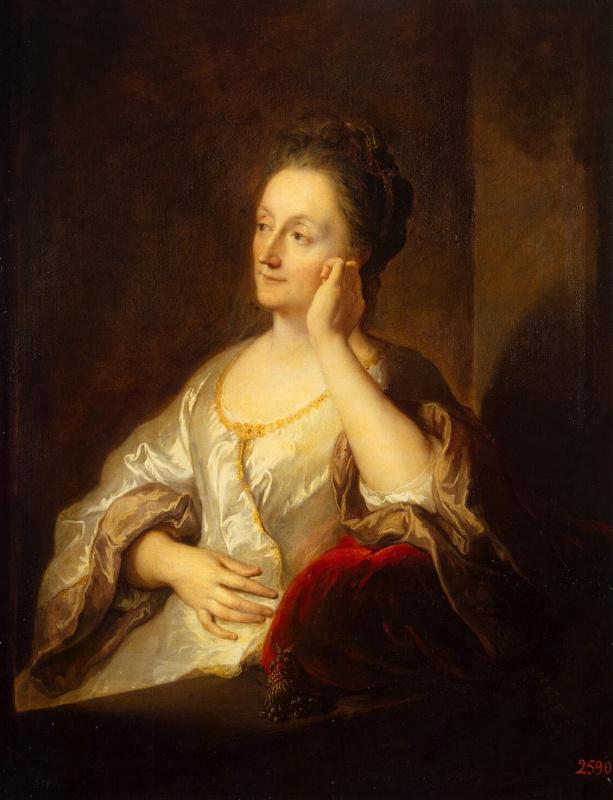 Портрет жены художника Жанны де Труа