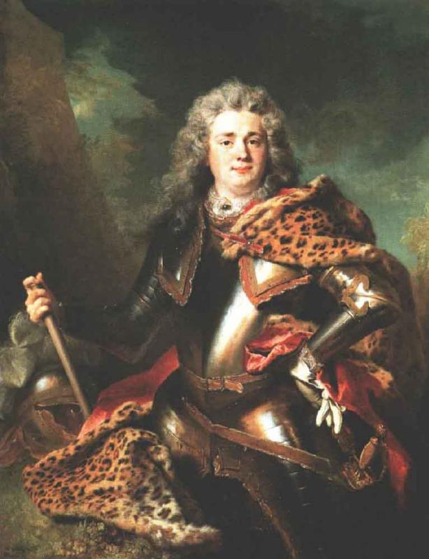 Никола де Ларджильер. Командир