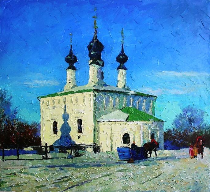 Михаил Рудник. Suzdal. Entry-Jerusalem Church