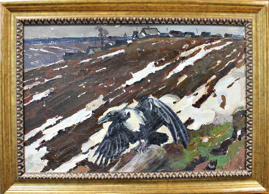 Petr Filippovich Alberti. Crow