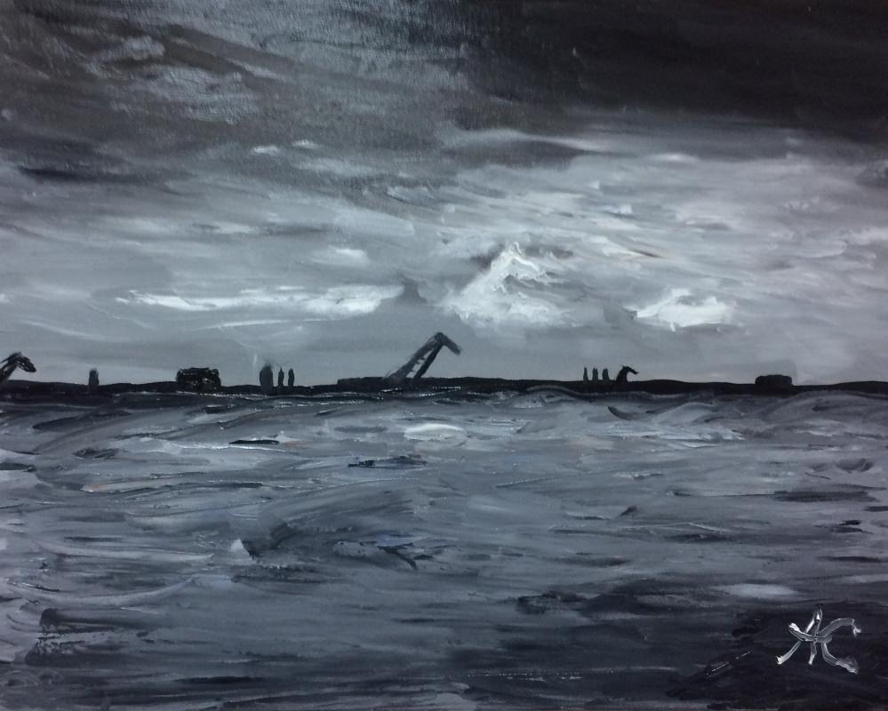 Alexey Leonidovich Kukushkin. Seaport of St. Perebrug