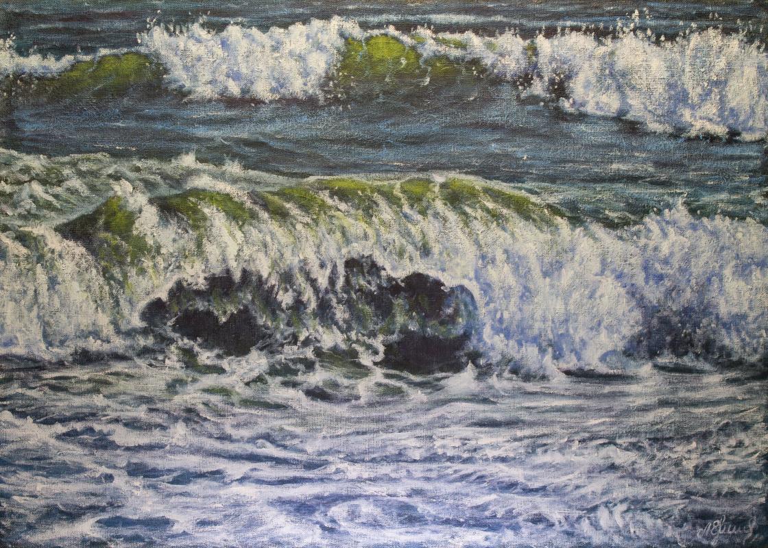 Valery Levchenko. № 576 Seascape.