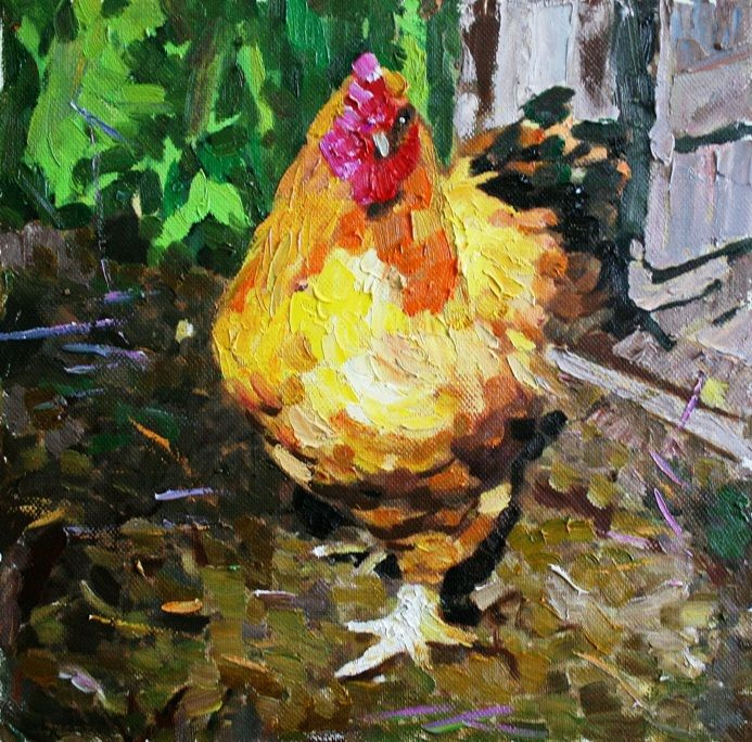 Михаил Рудник. Chickens No. 29
