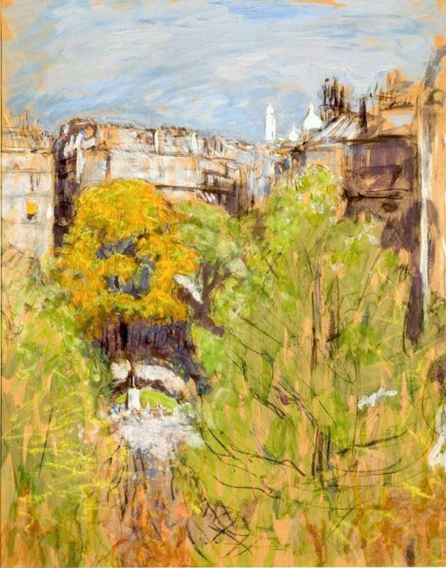 Жан Эдуар Вюйар. Площадь Винтимиль, вид из квартиры художника