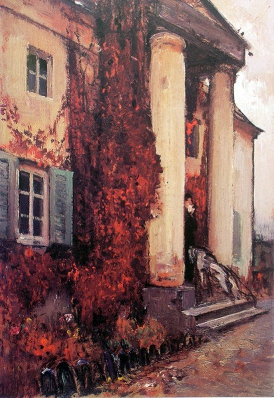 Ivan Grigorievich Myasoedov. Father's Manor in Pavlenki