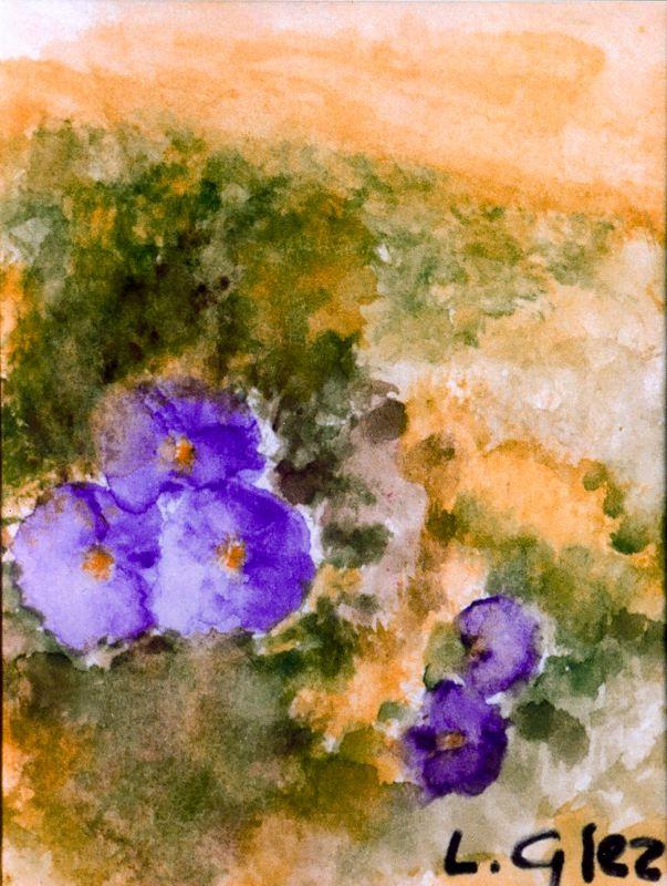 Гонсалес Муньос. Яркие цветы