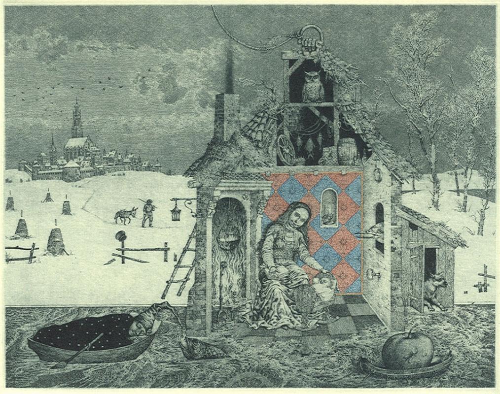 Konstantin Kalinovich. Great winter sleep