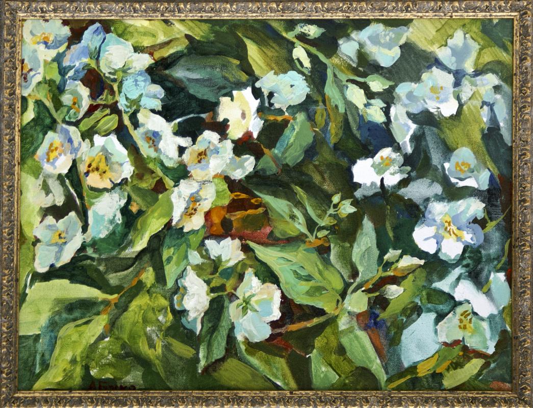 Anna Yuryevna Bosco. Jasmine blooms