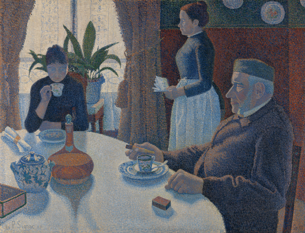 Поль Синьяк. Завтрак, или Столовая