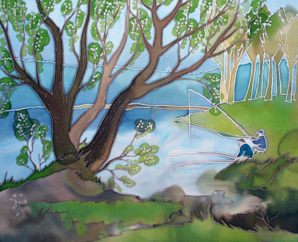 Violetta Valerievna Mitina. Quiet pond