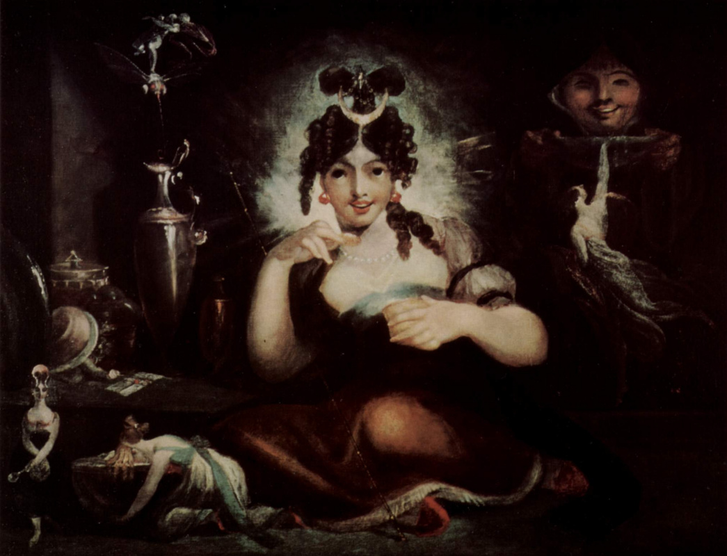 Johann Heinrich Fuessli. Queen MAB of the fairies
