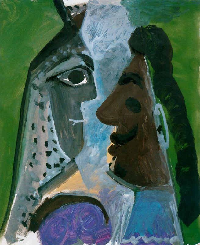Пабло Пикассо. Лица