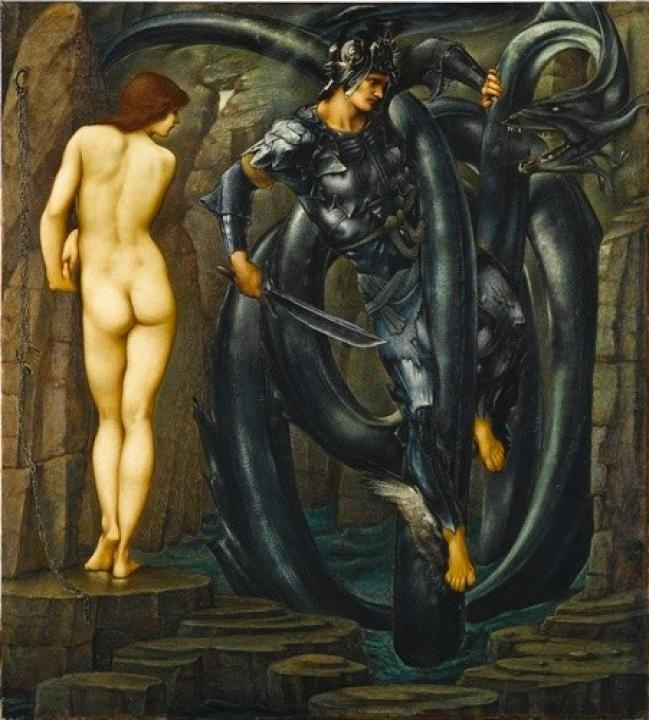 Edward Coley Burne-Jones. The Perseus Series: The Doom Fulfilled