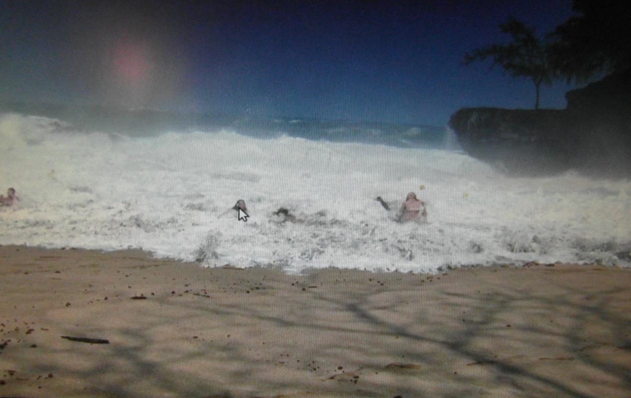 Valery Bronnikov. Bathing in the storm 4