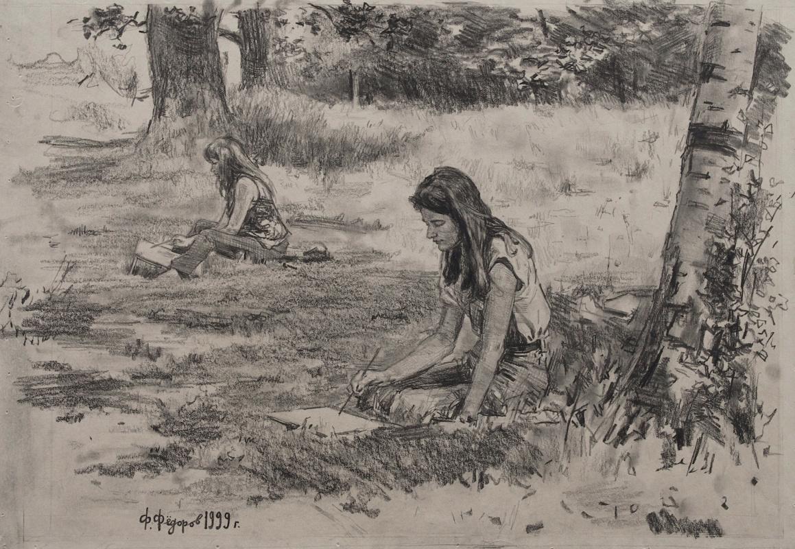 Фёдор Борисович Фёдоров. On sketches