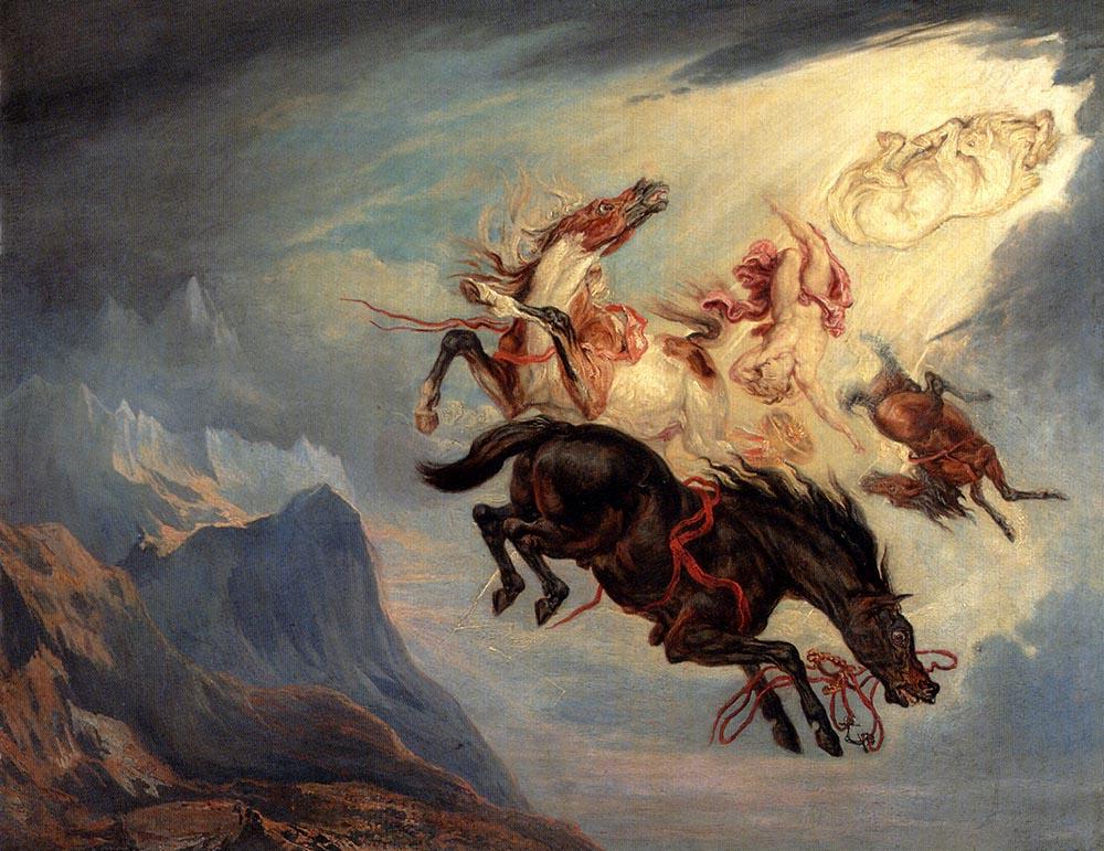 James Ward. The Fall Of Phaeton