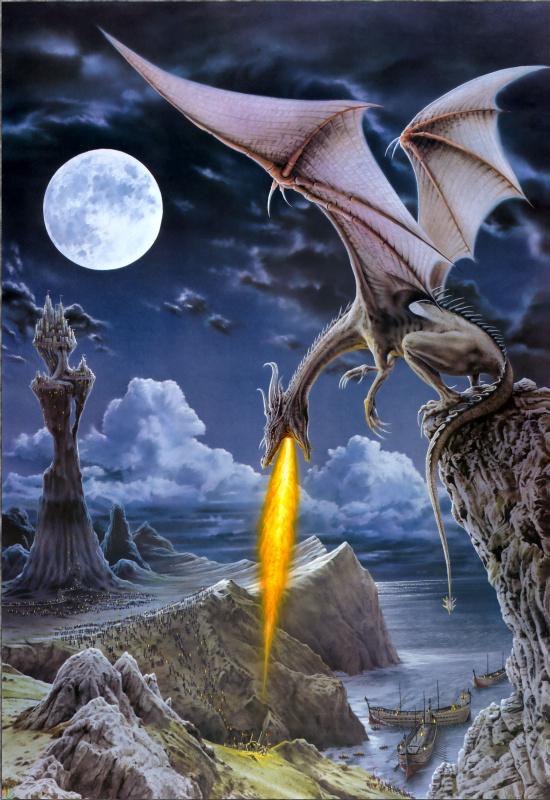 Робин Кони. Огнедышащий дракон