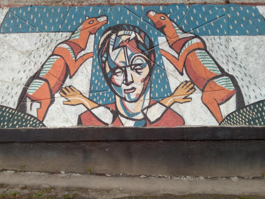 """Alexey Grishankov (Alegri). Wall weird """""""