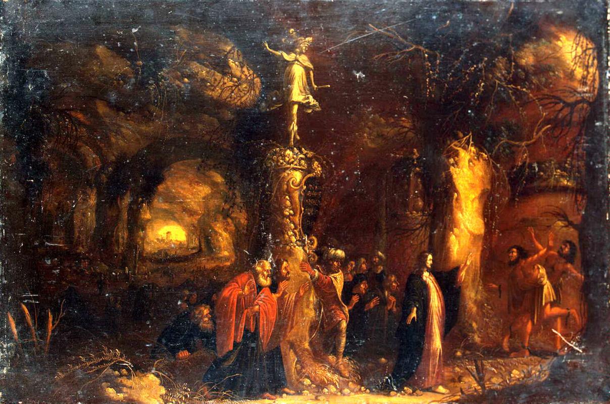 Ромбаут ван Тройен. Христос исцеляет бесноватых