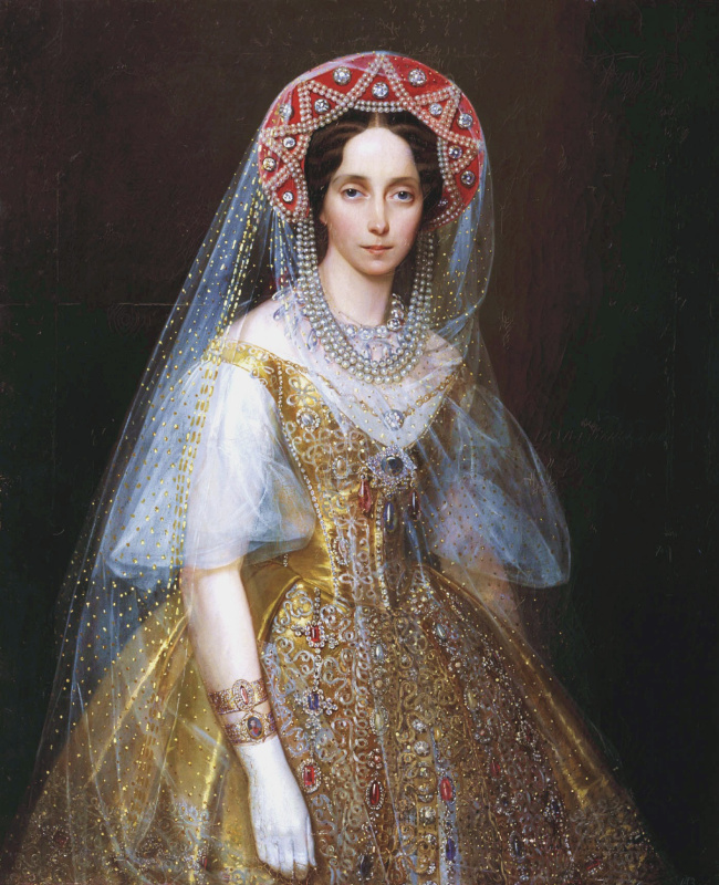 Иван Кузьмич Макаров. Великая княгиня Мария Александровна